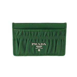 Prada Bags - Prada Quilted Leather Card Holder Wallet